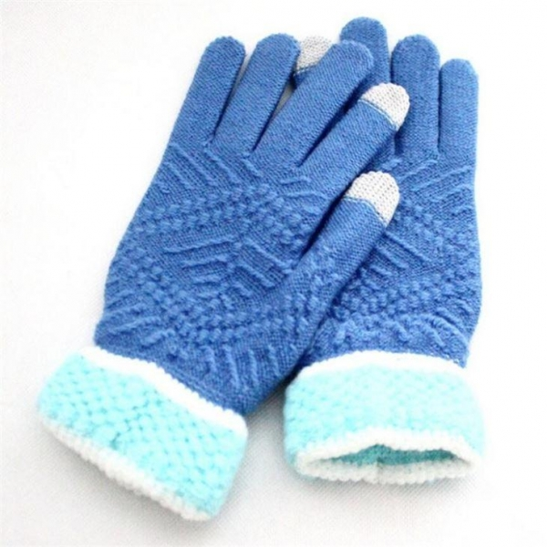 Quality Autumn and Winter to Keep Warm Plush Gloves Touch Screen Women Acrylic Winter Gloves for sale
