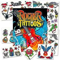 Buy cheap Rock Star Temporary Tattoos Party Favor Set (50 Rocker Tattoos) product