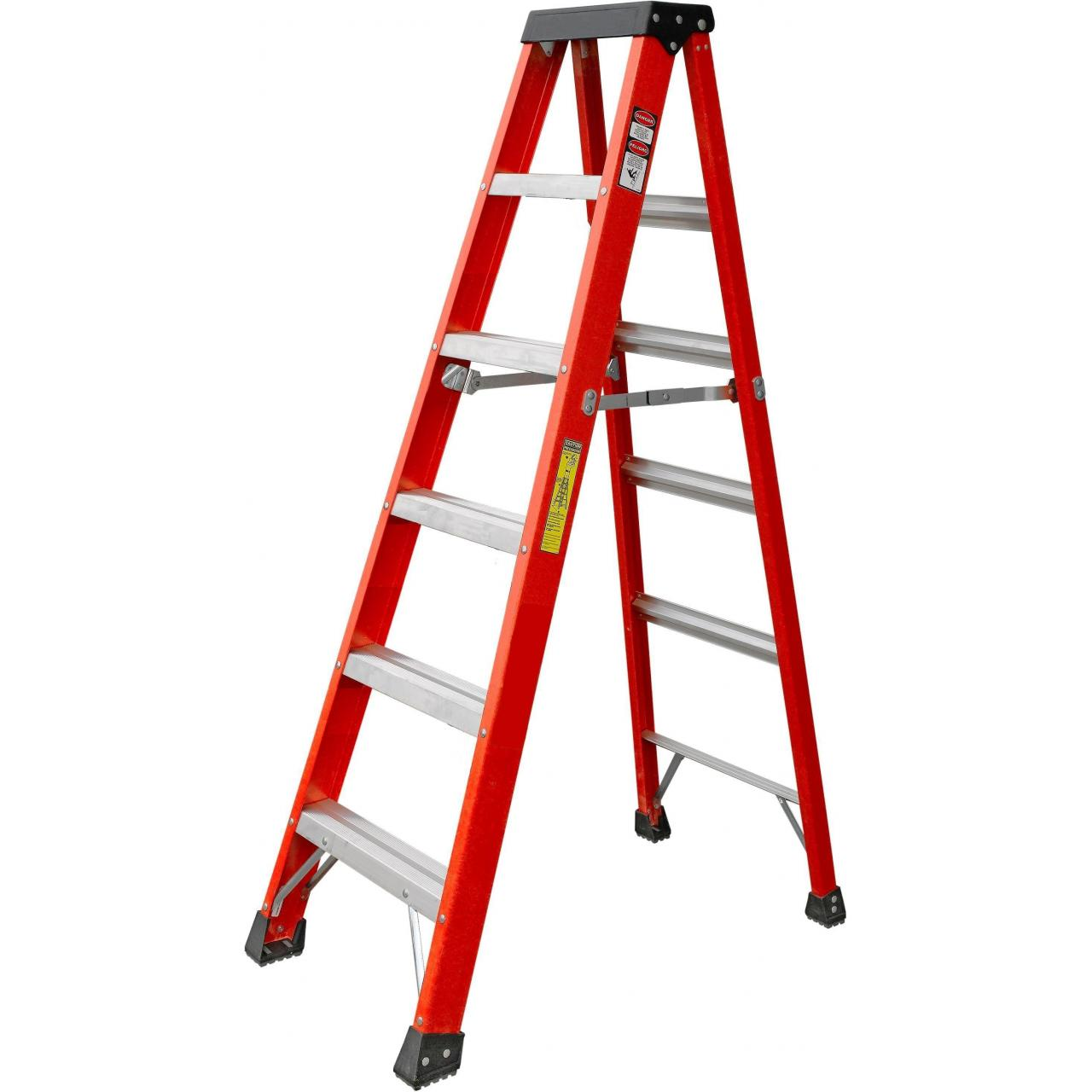 Buy cheap HEAVY DUTY FIBERGLASS STEPLADDER, GRADE 1A, 300LBS. product