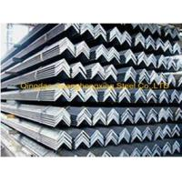 Buy cheap Q235, Q345 Galvanized Steel JIS Equal Steel Angle Bar product