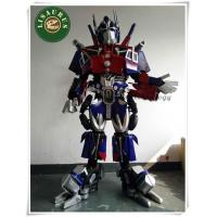 Cosplay 3D Deluxe Optimus Prime Transformers Movie Superhero Suit for Men