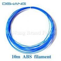 Buy cheap Fluo-blue Plastic Rubber Consumables ABS 3D Printer Filament 10m product
