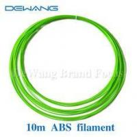 Fluo-green 1.75mm 3d printing dissolvable filament multi color