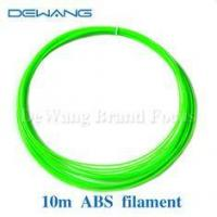 Buy cheap Green ABS 3d printer plastic filament 1.75mm Consumables Material 10M product