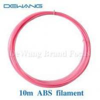 Buy cheap Pink 10m ABS 3D Printer Filament , recycled plastic 3d printer filament product
