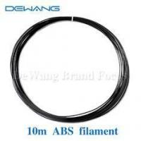 Buy cheap Black Filament abs plastic for 3d printer makerbot ultimaker Reprap 1kg/spool product
