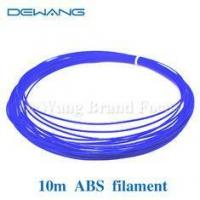 Buy cheap Blue 5m 3d printer ABS filament plastic Rubber Consumables Material 1.75mm/3mm product