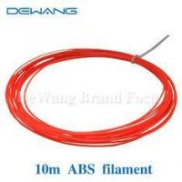 Buy cheap High strength and rigidity Red ABS 3D Printer Filament 1.75mm / 3mm product