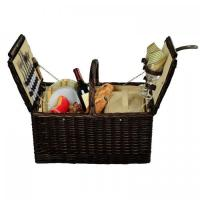 Buy cheap Picnic at Ascot Surrey Willow Picnic Basket with Service for 2 - Hamptons product