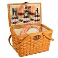 Buy cheap Picnic at Ascot Frisco Traditional American Style Picnic Basket with Service for 2 - Diamond Orange product