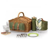 Buy cheap Picnic Time Somerset Willow Basket for Two product