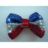 LED flashing sequin bow tie-13002