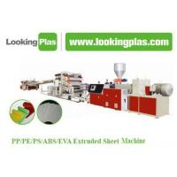 Buy cheap Plastic Extruded Sheet Making Machine product