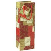Buy cheap New & Noteworthy Grand Lux Wine Bottle Gift Bag with Tag product