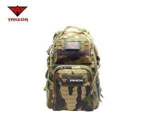 China Military Tactical Gear Backpack , Camping Sport Outdoor Molle Assault Pack
