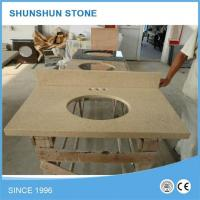 Buy cheap Prefabricated Artificial Quartz Stone Bathroom Vanity Tops product