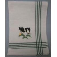Buy cheap Embroidered Cow Tea Towel product