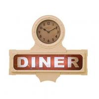 Buy cheap LIGHT-UP DINER SIGN WITH CLOCK product