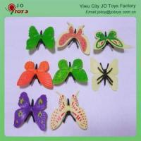 Buy cheap plastic butterfly hair clips Plastic Butterfly product