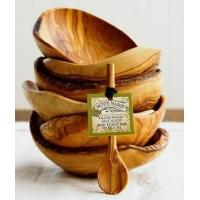 Buy cheap Olive Wood Serving Bowl with Spoon from wholesalers