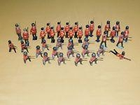 Quality Vintage Old Toy 38 British Hollowcast Lead Soldiers Lot for sale