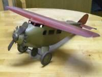 Buy cheap 1930s Prewar Antique Classic Usa Propeller Plane Bomber Airplane Tin Steel Toy product