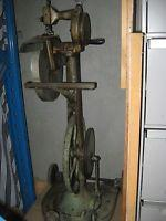 Buy cheap Rare Cast Iron Hand And Treadle Chain Stitch Sewing Machine product