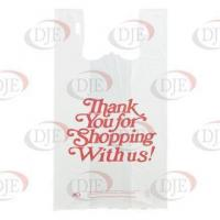 Buy cheap Bags Roll Of Oversize Plastic Thank You Bags - White from wholesalers