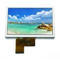 Buy cheap 5.0 Inch 480x272 Resolution TFT Color LCD Display5000 Unit/Units from wholesalers