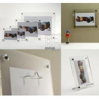 Buy cheap Acrylic Photo Frames A-001 from wholesalers