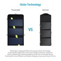Buy cheap 20W Poweradd Solar Power Bank Dual USB, Portable Solar Battery Charger from wholesalers