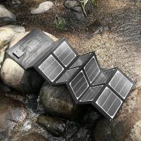 Buy cheap 40W Foldable Solar Power Bank , Smartphone / Tablet Solar Charger from wholesalers