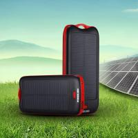 Buy cheap Outdoor Mini Solar Power Bank With LED Flashlight / Smart USB Port from wholesalers