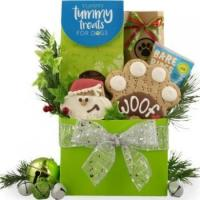 China Just For Dogs At The Holidays Gift Basket on sale