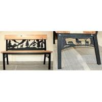 Buy cheap FURNITURE Garden Bench with Moose, Bear and Deer in Woods Design product