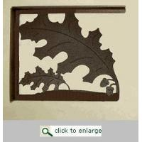 Buy cheap FURNITURE Oak Leaf Shelf Brackets product