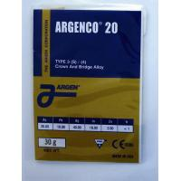 Buy cheap Dental Alloy ARGENCO 20 from wholesalers
