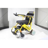 Buy cheap Folding Ultra Portable Lightweight Electric Wheelchair with Lithium Battery from wholesalers