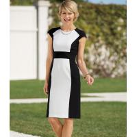 Buy cheap 41251 Cap Sleeve Colorblock Dress from wholesalers