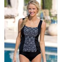 Buy cheap 41264 Ruched Inset Daisy Print Tankini from wholesalers