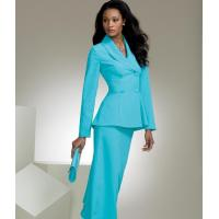 Buy cheap 90011 Cascading Peplum Skirtsuit from wholesalers