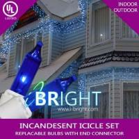 Buy cheap Globe string lights Icicle Lights, 150 Mini Classic Bulbs, 50 ft Green Wire, Blue from wholesalers