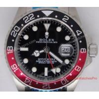 Buy cheap Replica Rolex GMT-Master Watch Coca Cola Red and black Bezel product