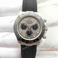 Buy cheap New 2017 Swiss Replica Rolex Cosmograph Daytona Watch SS Grey Face product