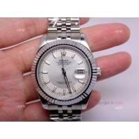 Buy cheap Knockoff Rolex Datejust SS Jubilee band Silver Face Mens Wrist Watch 36mm product