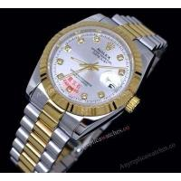Buy cheap Knockoff Rolex Datejust II Two Tone President Strap Silver Dial Gift Watches product