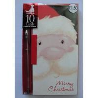 Buy cheap Christmas Card Set w/pen product