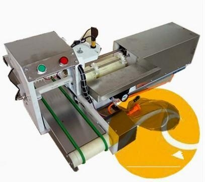 Quality Slicing machine automatic souvlaki skewer machine / doner kebab wear string for sale