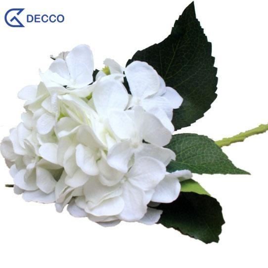 Quality Artificial flower 55CM Silk Hydrangea for sale