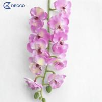 Buy cheap Artificial flower 10 Heads PU Phalaenopsis Orchid product